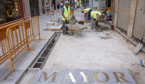 Peatonalización de la C/ Mayor - Cartagena